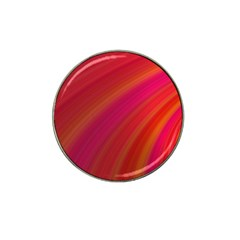 Abstract Red Background Fractal Hat Clip Ball Marker (4 Pack)