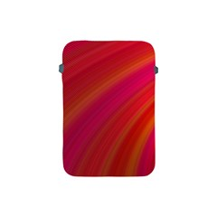 Abstract Red Background Fractal Apple Ipad Mini Protective Soft Cases by Nexatart