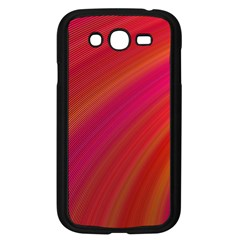 Abstract Red Background Fractal Samsung Galaxy Grand Duos I9082 Case (black)