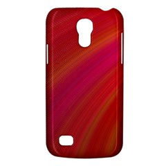 Abstract Red Background Fractal Galaxy S4 Mini