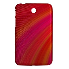 Abstract Red Background Fractal Samsung Galaxy Tab 3 (7 ) P3200 Hardshell Case