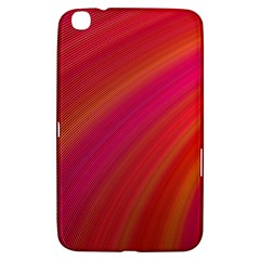 Abstract Red Background Fractal Samsung Galaxy Tab 3 (8 ) T3100 Hardshell Case