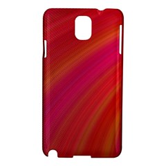 Abstract Red Background Fractal Samsung Galaxy Note 3 N9005 Hardshell Case by Nexatart