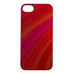 Abstract Red Background Fractal Apple Iphone 5s/ Se Hardshell Case
