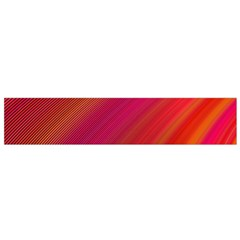 Abstract Red Background Fractal Flano Scarf (small)