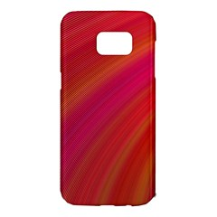 Abstract Red Background Fractal Samsung Galaxy S7 Edge Hardshell Case