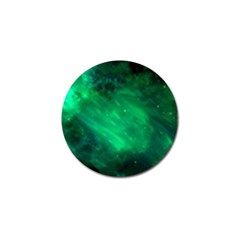 Green Space All Universe Cosmos Galaxy Golf Ball Marker (10 Pack) by Nexatart