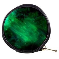 Green Space All Universe Cosmos Galaxy Mini Makeup Bags by Nexatart