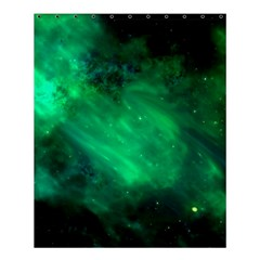 Green Space All Universe Cosmos Galaxy Shower Curtain 60  X 72  (medium)  by Nexatart