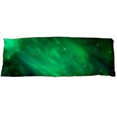 Green Space All Universe Cosmos Galaxy Body Pillow Case Dakimakura (two Sides) by Nexatart