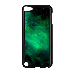 Green Space All Universe Cosmos Galaxy Apple Ipod Touch 5 Case (black) by Nexatart
