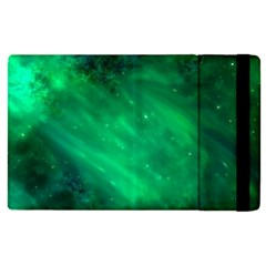 Green Space All Universe Cosmos Galaxy Apple Ipad Pro 12 9   Flip Case