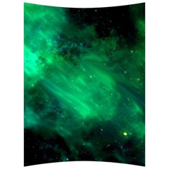 Green Space All Universe Cosmos Galaxy Back Support Cushion by Nexatart