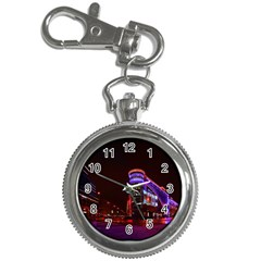 Moscow Night Lights Evening City Key Chain Watches