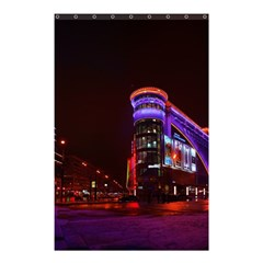 Moscow Night Lights Evening City Shower Curtain 48  X 72  (small)  by Nexatart