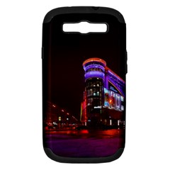 Moscow Night Lights Evening City Samsung Galaxy S Iii Hardshell Case (pc+silicone) by Nexatart