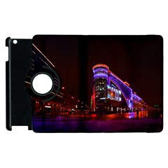Moscow Night Lights Evening City Apple Ipad 2 Flip 360 Case