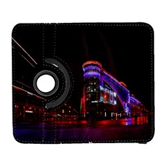 Moscow Night Lights Evening City Galaxy S3 (flip/folio) by Nexatart