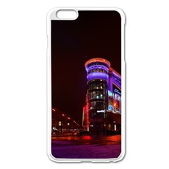 Moscow Night Lights Evening City Apple Iphone 6 Plus/6s Plus Enamel White Case