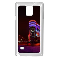 Moscow Night Lights Evening City Samsung Galaxy Note 4 Case (white)