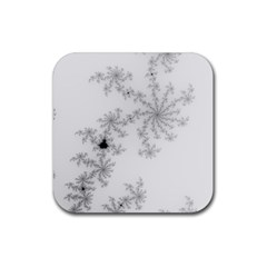 Mandelbrot Apple Males Mathematics Rubber Coaster (square)