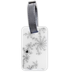 Mandelbrot Apple Males Mathematics Luggage Tags (two Sides)