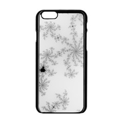 Mandelbrot Apple Males Mathematics Apple Iphone 6/6s Black Enamel Case by Nexatart