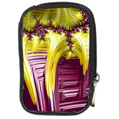 Yellow Magenta Abstract Fractal Compact Camera Cases by Nexatart