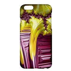 Yellow Magenta Abstract Fractal Apple Iphone 6 Plus/6s Plus Hardshell Case by Nexatart