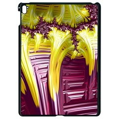 Yellow Magenta Abstract Fractal Apple Ipad Pro 9 7   Black Seamless Case by Nexatart