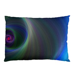 Gloom Background Abstract Dim Pillow Case by Nexatart