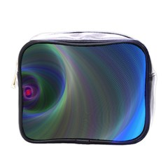 Gloom Background Abstract Dim Mini Toiletries Bags by Nexatart