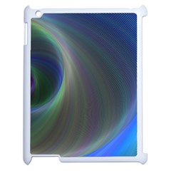 Gloom Background Abstract Dim Apple Ipad 2 Case (white) by Nexatart