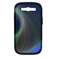 Gloom Background Abstract Dim Samsung Galaxy S Iii Hardshell Case (pc+silicone)