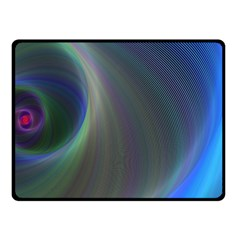 Gloom Background Abstract Dim Double Sided Fleece Blanket (small)