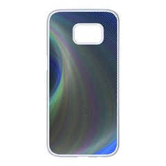 Gloom Background Abstract Dim Samsung Galaxy S7 Edge White Seamless Case by Nexatart