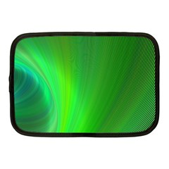 Green Background Abstract Color Netbook Case (medium)