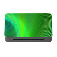 Green Background Abstract Color Memory Card Reader With Cf by Nexatart