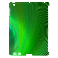 Green Background Abstract Color Apple Ipad 3/4 Hardshell Case (compatible With Smart Cover) by Nexatart