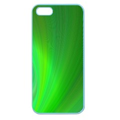 Green Background Abstract Color Apple Seamless Iphone 5 Case (color) by Nexatart