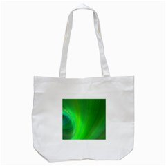 Green Background Abstract Color Tote Bag (white) by Nexatart
