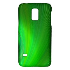 Green Background Abstract Color Galaxy S5 Mini by Nexatart