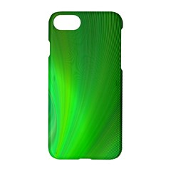 Green Background Abstract Color Apple Iphone 7 Hardshell Case