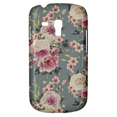 Pink Flower Seamless Design Floral Galaxy S3 Mini by Nexatart