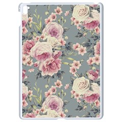 Pink Flower Seamless Design Floral Apple Ipad Pro 9 7   White Seamless Case