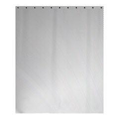 White Background Abstract Light Shower Curtain 60  X 72  (medium)