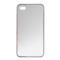 White Background Abstract Light Apple Iphone 4/4s Seamless Case (black) by Nexatart
