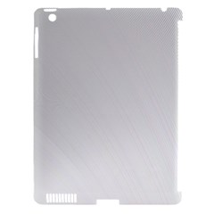 White Background Abstract Light Apple Ipad 3/4 Hardshell Case (compatible With Smart Cover) by Nexatart