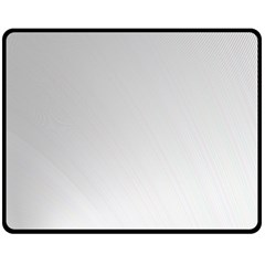 White Background Abstract Light Double Sided Fleece Blanket (medium)