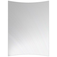 White Background Abstract Light Back Support Cushion